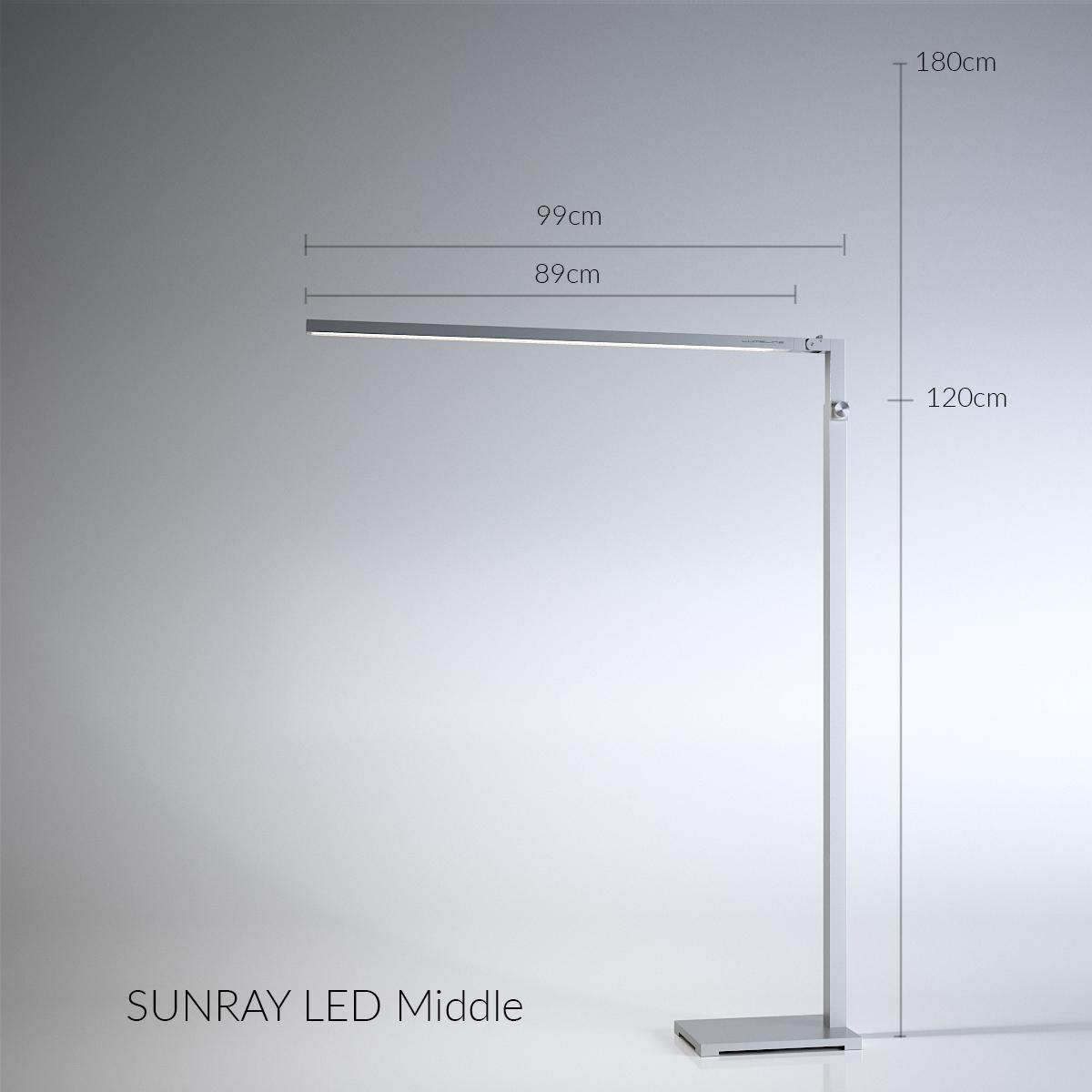 LED_silver_M_dimension
